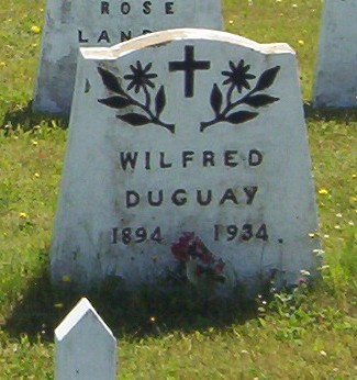 New Brunswick headstones