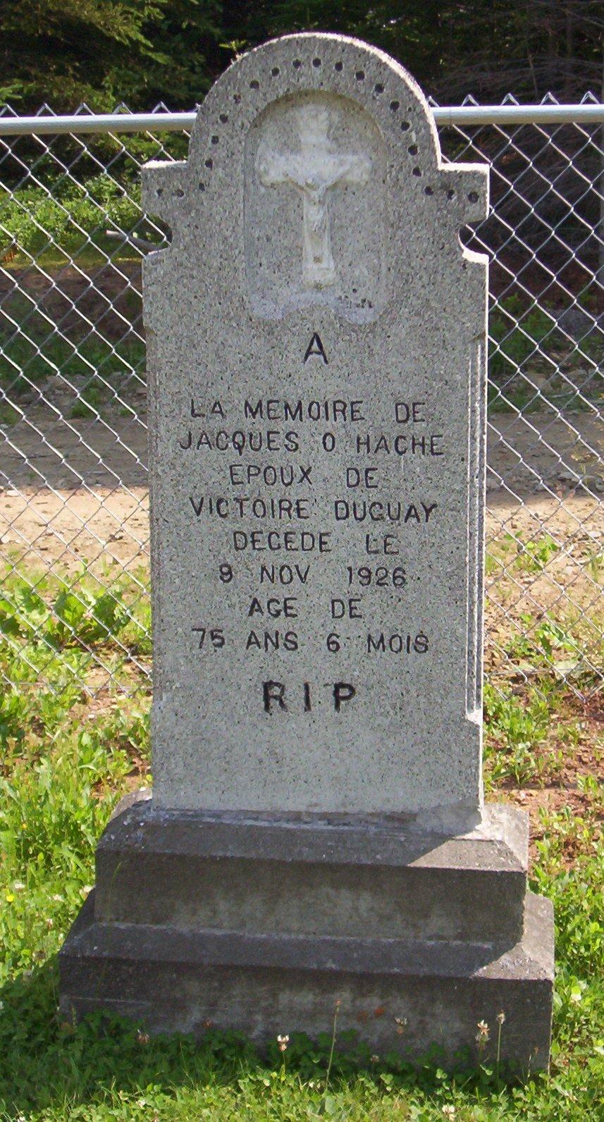 Hache Jacques O 1926