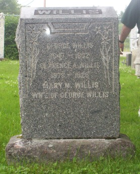Headstone: Willis George  | Willis Clarence A