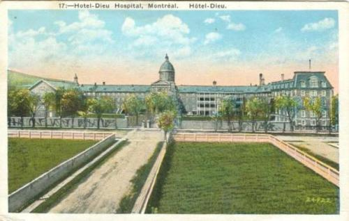 Historic Montreal Quebec postcards