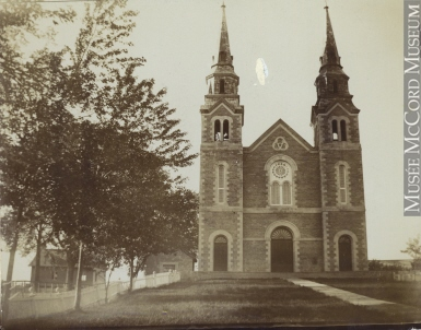 Ile-Bizard Church | Quebec settlers | Belleville settler