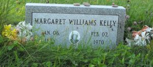 Kelly, Williams Margaret | Kahnawa:ke Catholic Cemetery | First Nations Genealogy