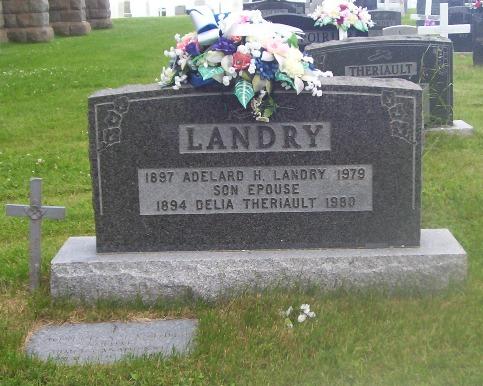 St.Simon & St.Jude Cemetery – Grande Anse, New Brunswick | Landry, Theriault
