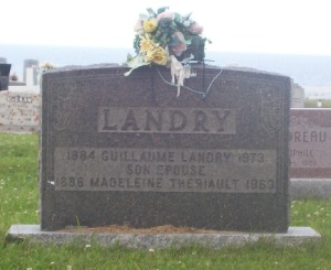 Landry Theriault Genealogy | New Brunswick Cemeteries