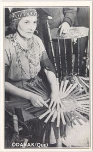 Odanak Basket Weaving