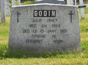 Pinet Genealogy | New Brunswick Cemeteries
