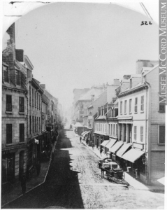 French Canadian Pioneers: The St-Laurents Of Quebec Quebec City - historic view of S.John Stree (rue St.Jean)