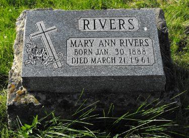 Rivers | Kahnawake Catholic Cemetery