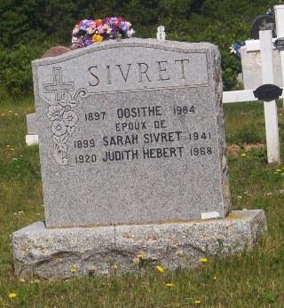 Miscou Genealogy | Sivret Dosithe 1984 Miscou