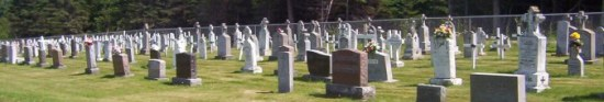 St Joachim Cemetery Bernard Gloucester NB CAN
