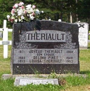 Headstones St Joachim | Bernard, Paquetville, New Brunswick