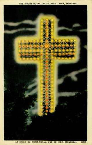vintage postcard   Montreal history