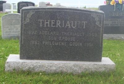 St.Simon & St.Jude Cemetery – Grande Anse, New Brunswick | Godin, Theriault