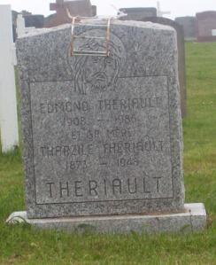 Theriault Genealogy | New Brunswick Cemeteries