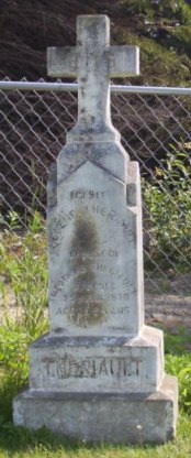 Theriault Genealogy | New Brunswick Cemetery Headstones