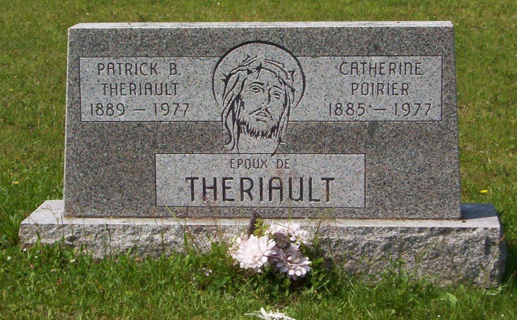 Theriault Patrick B 1977 Poirier Catherine 1977