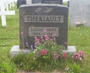 Theriault Genealogy | New Brunswick Cemeteries