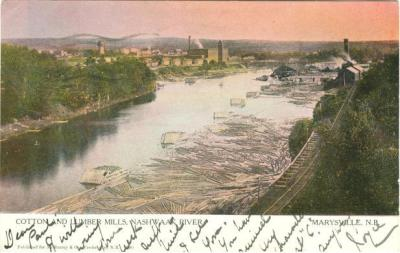 History of Fredericton New Brunswick