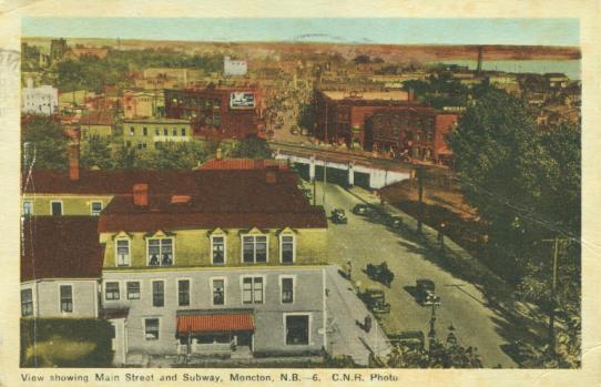 historical Monction, New Brunswick