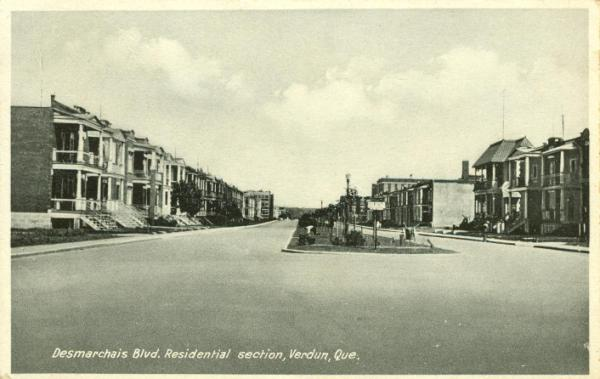 Verdun Desmarchais Blvd Residential section