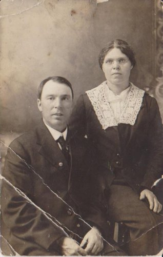 Canadian Family | Vintage Wedding Photo | Early 20th Century
