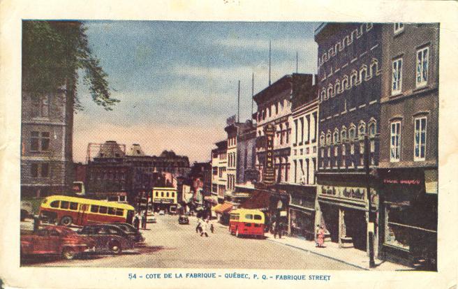 rue de La Fabrique Simon's