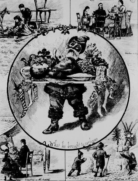 Canadian Christmas 1881