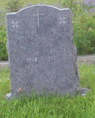 Headstone: Gagnon | Val Brillant Cemetery | Quebec Headstones