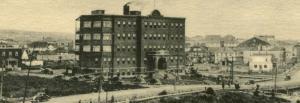 Abitibi-Temiscamingue - Rouyn Noranda - hospital - vintage postcard
