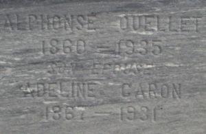 French Canadian Genealogy | Alphonse Ouellet, Adeline Caron | Canadian Family