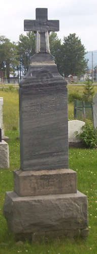 Headstone: OUELLET | Val Brillant Cemetery | Quebec Cemeteries