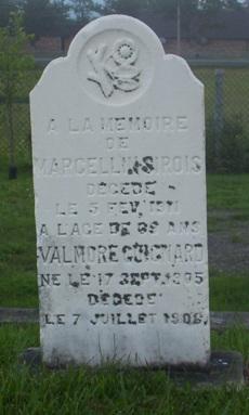 Headstone: SIROIS | Val Brillant Cemetery | Quebec Headstones