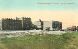 History of Montreal Quebec Hospitals   Tuberculosis & infections diseases - sanatorium   Queen Alexandra