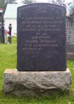 Beaudin, Duguay | Grande-Riviere Cemetery