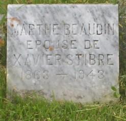 Beaudin, Stibre | Grande-Riviere Cemetery