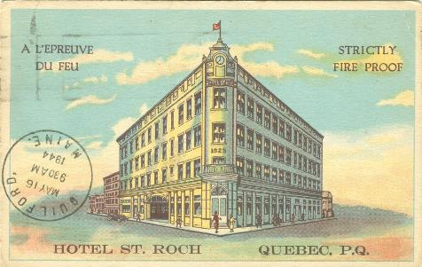 Quebec Postcard | Canadian Family