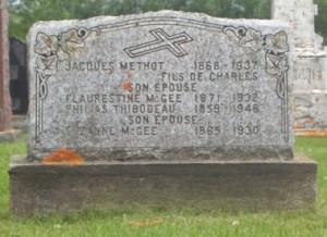 McGee, Methot, Thibodeau | Grande-Riviere Cemetery