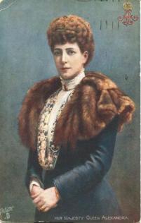 Danish princess, daughter of King Christian IX of Denmark | historical image