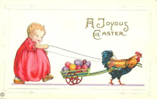 Easter scrapbooking art