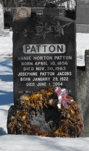 Native American Headstone | Canadian Family