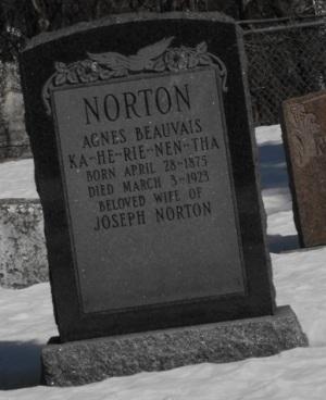 Beauvais, Norton | Kahnawake Protestant Cemetery