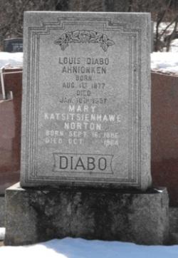 Diabo, Norton  | Kahnawake Protestant Cemetery