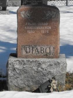 Diabo | Kahnawake Protestant Cemetery