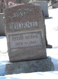 Horne   Kahnawake Protestant Cemetery