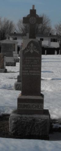 Headstone: ROBERT  | St-Joachim, Chateauguay | Quebec Cemeteries