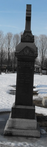 Headstone: LABERGE    |  St-Joachim, Chateauguay  | Quebec Cemeteries