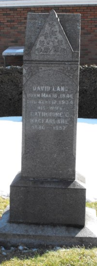 Headstone: MACFARLANE  | Chateauguay Old Protestant Cemetery | Quebec Cemeteries