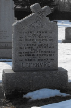 Chateauguay Genealogy | Lefebvre, Laberge, Boscher