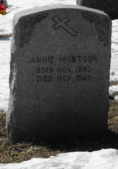 Native American Headstone