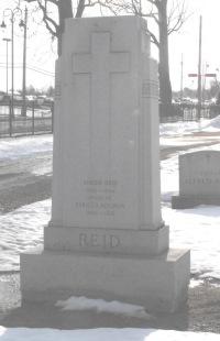 Headstone:  REID  | St-Joachim, Chateauguay | Quebec Cemeteries